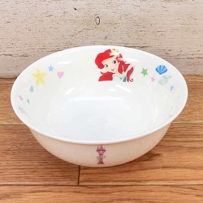 【送料無料】ディズニー 通販 わけあり アウトレット プリンセス ラーメン どんぶり 丼 陶器 ラーメン鉢 食器 お土産 おみやげ 訳あり箱無 アリエル ラプンツェル