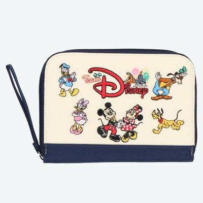 東京ディズニーリゾート ディズニー 通販 チーム ディズニー ミッキー & フレンズ 母子手帳 ケース 無料ギフトラッピング TDR  ディズニーランド ディズニーシー ミッキーと仲間達 おみやげ