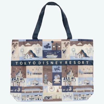 東京 ディズニー リゾート 折りたたみ エコバッグ 【第2弾】リユースバッグ ミッキーマウス マチ付き  無料ギフトラッピング ミッキー ディズニーリゾート おみやげ お土産 TDR TDL TDS