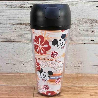 ウォルト ディズニーワールド リゾート キャスト 限定 蓋付き タンブラー ミッキーマウス 無料ギフトラッピング WDW ミッキー キャストメンバー 通常一般購入不可のアイテム 1点のみ アメリカ製
