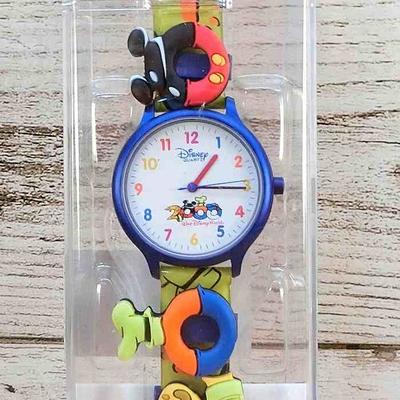 ウォルト ディズニーワールド リゾート ラバー 腕時計 2000年 ミレニアム 【新品  電池切れ 現状渡し】無料ギフトラッピング WDW 超レア 1点のみ ウォッチ 男女兼用