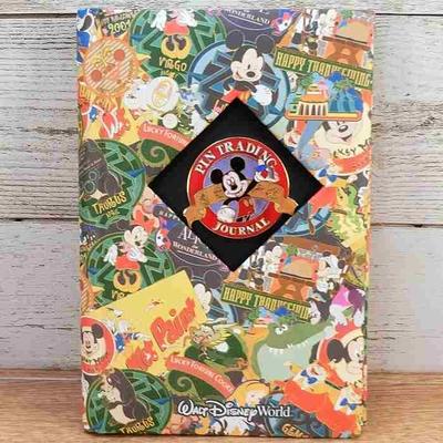 ウォルト ディズニーワールド リゾート ピントレーディング ダイアリー 手帳 ミッキーマウス 無料ギフトラッピング WDW ミッキー 超レア 1点のみ 鉛筆付き