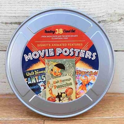 ウォルト ディズニーワールド リゾート ムービーポスター  シリーズ 限定 トレーディングカード 38枚コンプリートセット フィルム缶入  WDW  LE5000 トレカ