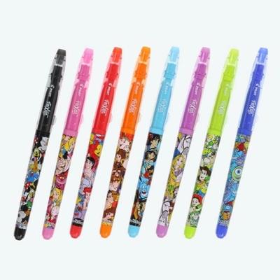 東京ディズニーリゾート ディズニー 通販 オールキャラクター フリクション カラー サインペン 8色8本セット 無料 ギフトラッピング TDR おみやげ お土産 ディズニーランド ディズニーシー