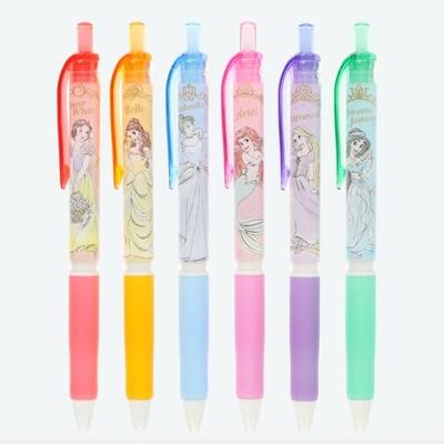 東京ディズニーリゾート ディズニー 通販 プリンセス Signo シグノ ゲルインキ ボールペン 6本セット 無料 ギフトラッピング TDR お土産 ディズニーランド ディズニーシー 日本製