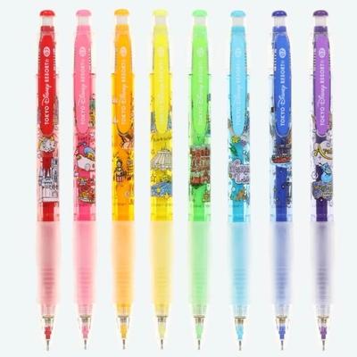 東京ディズニーリゾート ディズニー 通販 アトラクション ショー デザイン カラー芯 シャープペン 8本8色セット 無料 ギフトラッピング TDR おみやげ お土産 ディズニーランド ディズニーシー