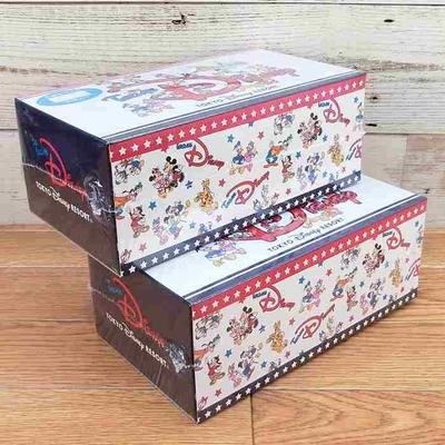 【2個まとめ買い お得!】東京ディズニーリゾート  限定 ディズニー 通販 チーム ディズニー 不織布 マスク 30枚 箱入り 個包装  無料ギフトラッピング TDR ディズニーランド ディズニーシー
