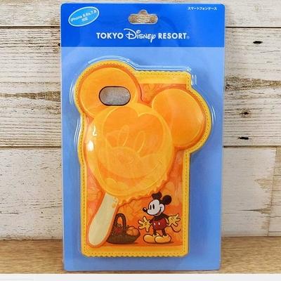 東京ディズニリゾート ディズニー ミッキーマウス アイスバー iPhone 6 6S 7 8  スマホケース 無料ギフトラッピング アイスキャンディ スマホ アイフォン アイホーン スマートフォン