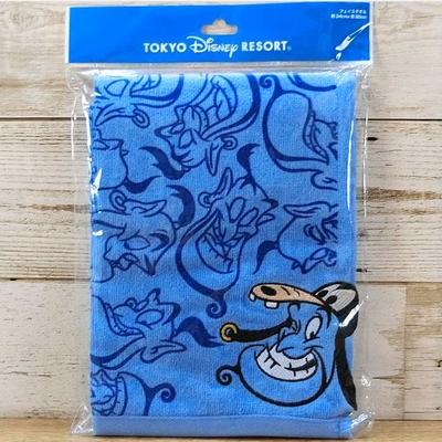 東京ディズニーリゾート ディズニー ジーニー アラジン 刺繍 フェイスタオル 無料ギフトラッピング TDR ディズニーランド ディズニーシー グーフィー 帽子 キャップ おみやげ お土産