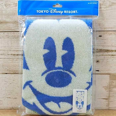 東京ディズニーリゾート ディズニー ミッキーマウス ダイカット フェイスタオル 無料ギフトラッピング TDR ディズニーランド ディズニーシー ミッキー おみやげ お土産