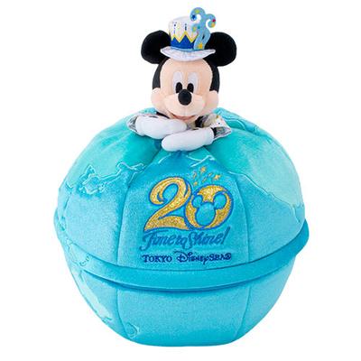 【9/3発売予定】 東京ディズニーシー ディズニー 通販  20周年  タイム・トゥ・シャイン 収納ボックス 無料ギフトラッピング TDS ディズニーランド ディズニーリゾート  ミッキー 小物入れ