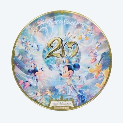 【9/3発売予定】 東京ディズニーシー ディズニー 通販  20周年  タイム・トゥ・シャイン カン バッジ ミッキーマウス 無料ギフトラッピング TDS ランド リゾート ミッキー 缶バッチ