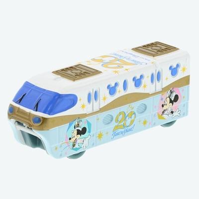 【9/3発売予定】 東京ディズニーシー ディズニー 通販  20周年  タイム・トゥ・シャイン  ビークル・コレクション トミカ リゾートライナー 無料ギフトラッピング リゾート ライナー ミニカー