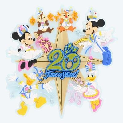 【9/3発売予定】 東京ディズニーシー ディズニー 通販  20周年  タイム・トゥ・シャイン  デコレーション マグネット 無料ギフトラッピング TDS ディズニーランド リゾート 磁石