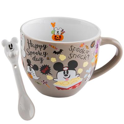 【9/14発売】 東京ディズニーランド ディズニー ハロウィーン スープカップ スプーン付き 無料ギフトラッピング ハロウィン シー リゾート お土産 カップ スープマグ スプーン
