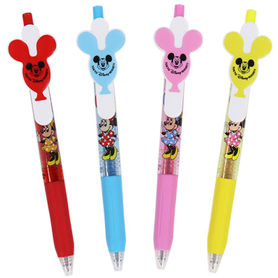 東京ディズニーリゾート ディズニー 通販  バルーンシリーズ ボールペン サラサ カラーインク 4本セット 無料ギフトラッピング TDR ディズニーランド ディズニーシー