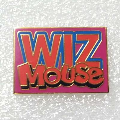 2001年制作 ウィズマウス オリジナル ロゴ ピンバッチ リミテッド500 疑似七宝
