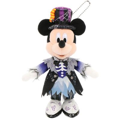 """東京ディズニーランド ディズニー ハロウィーン  スプーキー""""Boo!"""" ミッキーマウス ぬいぐるみ バッジ 無料ギフトラッピング ハロウィン TDR ディズニーシー ディズニーリゾ"""