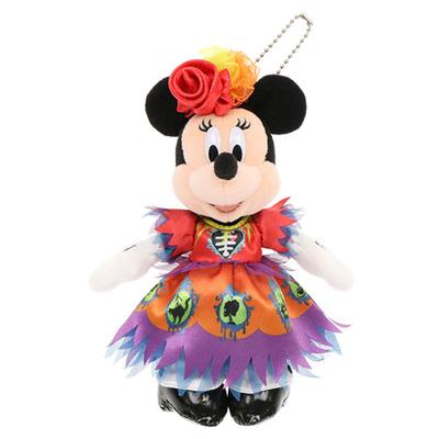 """東京ディズニーランド ディズニー ハロウィーン  スプーキー""""Boo!"""" ミニーマウス ぬいぐるみ バッジ 無料ギフトラッピング ハロウィン TDR ディズニーシー ディズニー"""