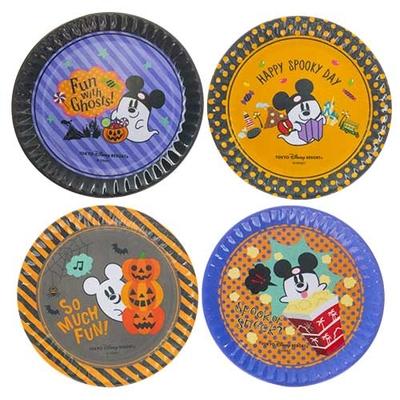 東京ディズニーランド ディズニー ハロウィーン プレート 4枚セット 無料ギフトラッピング ハロウィン TDR ディズニーシー ディズニーリゾート お土産 皿