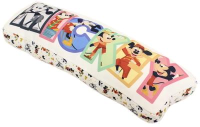 ディズニー 通販 ミッキーマウス ミニーマウス 90周年 トゥルーオリジナル ロゴ クッション 無料ギフトラッピング おみやげ お土産 長方形 角形 MM90