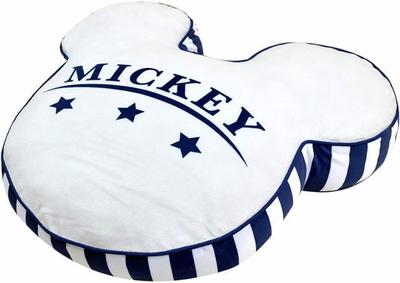 ディズニー 通販 ミッキーマウス ミニーマウスミツマル アイコン ラウンド もちもち クッション 無料ギフトラッピング おみやげ お土産 円形 丸型 大きめサイズ