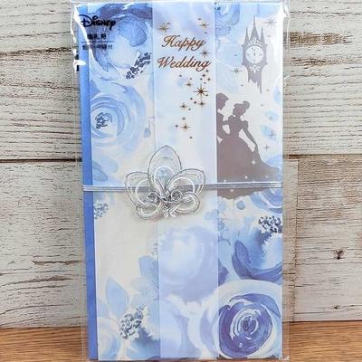 ディズニー 金封 婚礼用 シンデレラ 無料ギフトラッピング 祝儀袋 おみやげ お土産 ハッピー ウエディング 日本製