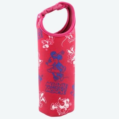 東京ディズニーリゾート ディズニー 通販 ミニーマウス ペットボトル カバー ホルダー ケース 無料ギフトラッピング TDR ディズニーランド ディズニーシー ミニー アウトドア 水筒 携帯ボトル