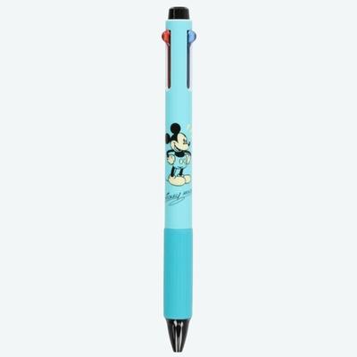東京ディズニーリゾート ディズニー 通販 レトロ アトラクション ミッキーマウス 低粘度 ボールペン インク:黒 赤 青 0.5mm【日本製】 無料ギフトラッピング ミッキー TDR お土産 おみやげ