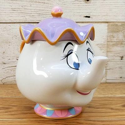 東京ディズニーリゾート ディズニー 通販 美女と野獣 ポット夫人 ふた付き マグカップ 無料ギフトラッピング TDR ディズニーランド ディズニーシー マグ 蓋付き おみやげ お土産