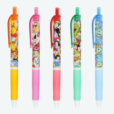 東京ディズニーリゾート ディズニー 通販 ジェットストリーム ボールペン 5本セット 日本製 無料ギフトラッピング くまのプーさん ふしぎの国のアリス 白雪姫 ピーターパン モンスターズインク 土産