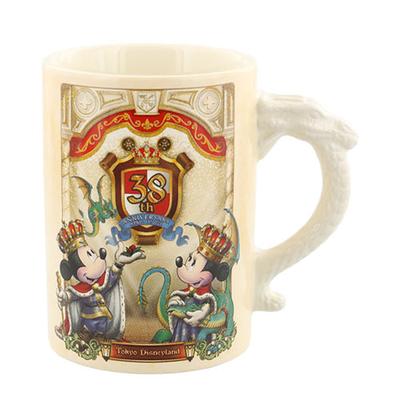 東京ディズニーランド ディズニー 通販 マグカップ 38周年 無料ギフトラッピング ミッキー ミニー TDL ディズニーリゾート ディズニーシー おみやげ お土産 マグ コーヒーカップ