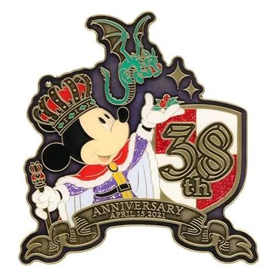 東京ディズニーランド ディズニー 通販 キングダムトレジャー マグネット 38周年 無料ギフトラッピング ミッキー ミニー TDL ディズニーリゾート ディズニーシー おみやげ お土産 磁石