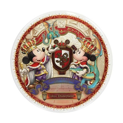 東京ディズニーランド ディズニー 通販 キングダムトレジャー 缶バッジ 38周年 無料ギフトラッピング ミッキー ミニー TDL ディズニーリゾート おみやげ お土産 カンバッジ カンバッチ