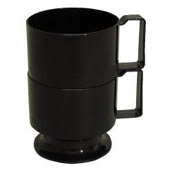 ポリマープラス カップホルダー 黒 5個入