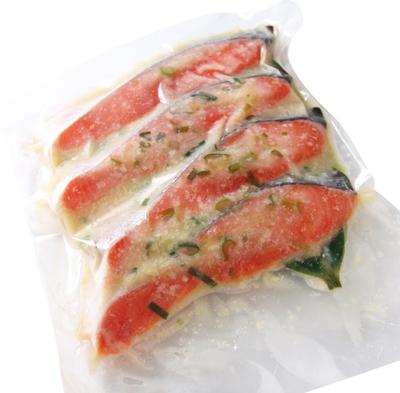 銀鮭ねぎ塩麹漬け 4切入