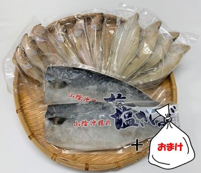 【送料無料】大海食品の干物定期便 1月 ※おまけ付き