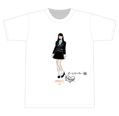 ★オンラインショップ限定商品★【NMB48】個別イラストTシャツ(全48種)※数量限定(平山・眞鍋・芳野・和田)