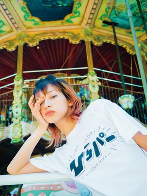 【PARK SiDE Studio】 Tシャツ T002ひらパー(黒字)