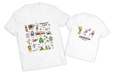 プレイピーシリーズ Tシャツ(ベーシック・ドクロっちょ)