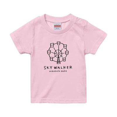【PARK SiDE Studio】 kids Tシャツ T-K001オスカイウォーカー(ピンク)