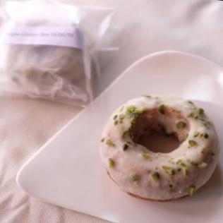 チュロス屋☆チリンの鈴のグルテンフリードーナツ ホワイトチョコ