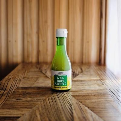 ムソー オーガニックレモン100%しぼりたて 180ml