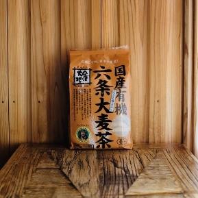 金沢大地の国産有機六条大麦茶 10g✕40袋