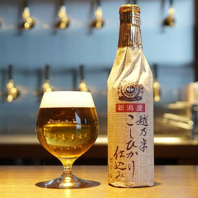 ㈱天朝閣 瓢湖屋敷の杜ブルワリー 越乃米こしひかり仕込みビール