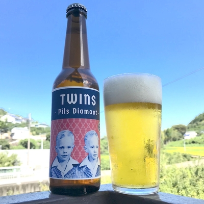 2nd Story Ale Works Twins -Pils Diamant-