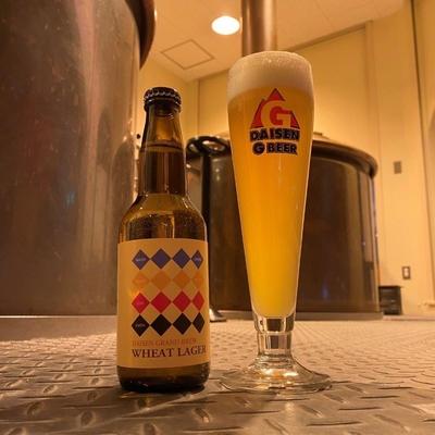 大山Gビール DAISEN GRAND BREW ウィートラガー
