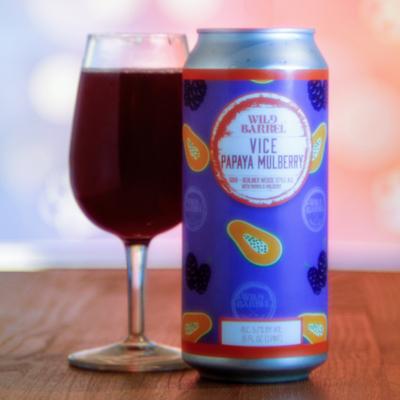 Wild Barrel Brewing Vice w/ Papaya Mulberry