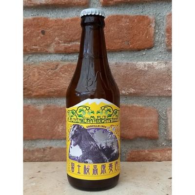 富士桜高原麦酒 究極のラガーゴジララベルver