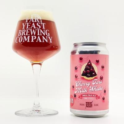 Far Yeast Brewing NIGHT WATCH PROJECT Cherry Tart Milkshake IPA